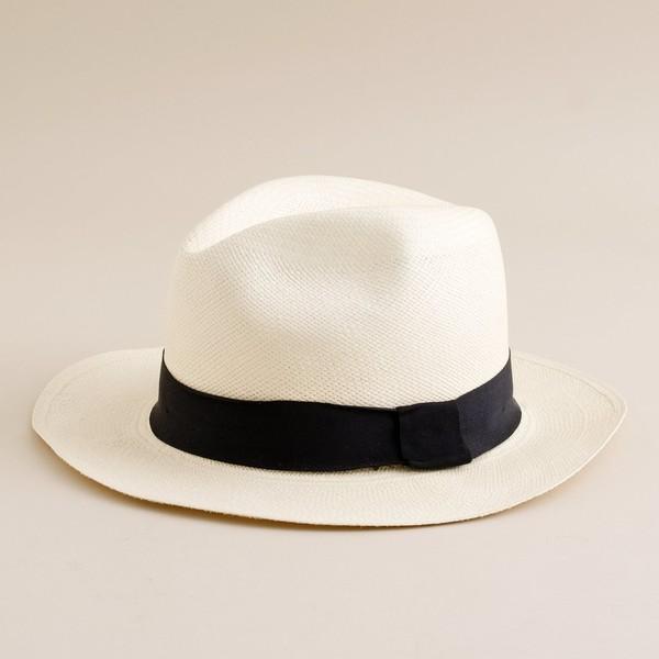 J.Crew Panama hat - Polyvore