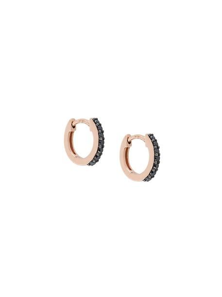 Astley Clarke mini women earrings hoop earrings gold black jewels