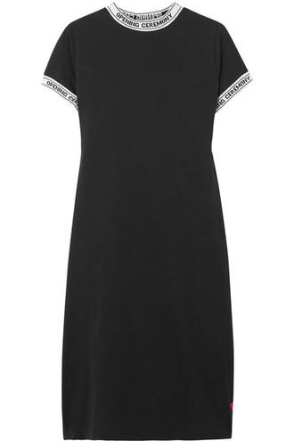 dress mini dress mini cotton black knit
