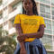 Why be racist when you could just be quiet t shirt, yellow tshirt, homophobic tee, sexist shirt, why be racist tshirt womens top