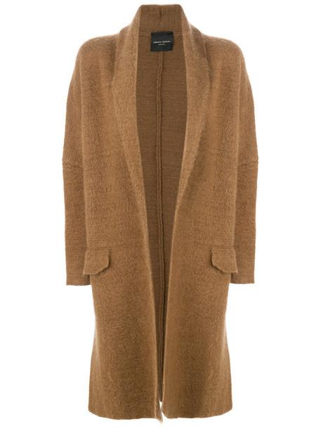 Roberto Collina coat women mohair brown