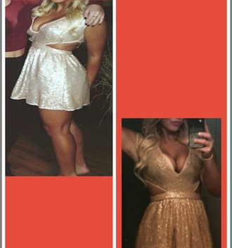 dress gold dress sparkle sparkly dress gold sparkles short dress