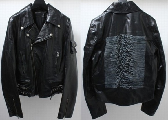 joy division black jacket leather awesome