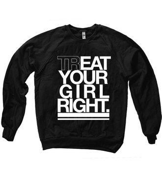 funny unisex quote on it black and white sweater valentine's day