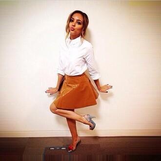 skirt blouse shirt jade thirlwall little mix shoes
