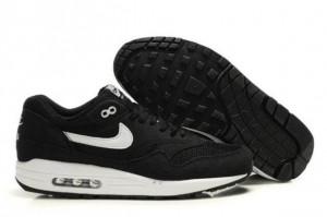 Shop Nike Air Max 1 Men's Running Shoe Black/White UK Online Shop