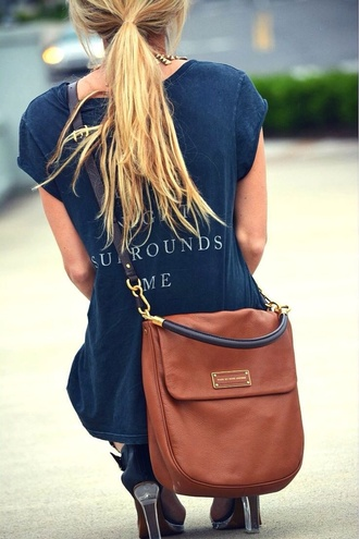 bag marc jacobs leather bag