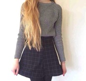 shirt,black and white,indie,hipster,vintage,style,skirt