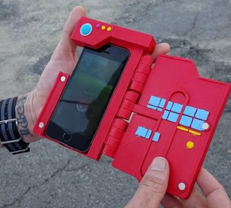phone cover pokemon red