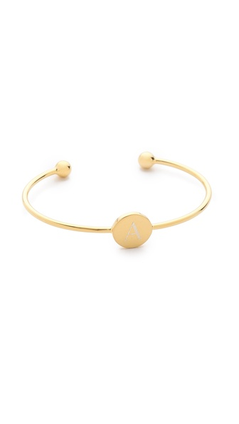 Sarah Chloe Ella Engraved Adjustable Bracelet | SHOPBOP