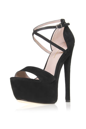 **Nanette Platform Sandals by Kurt Geiger - Heels  - Shoes  - Topshop