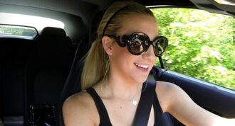 sunglasses rounded sunglasses savannah chrisley