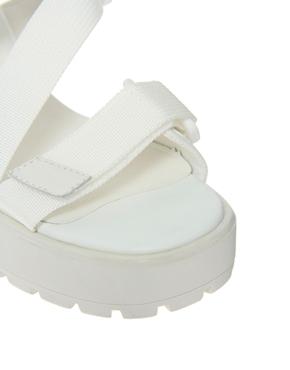 Vagabond | Vagabond Dioon Multi Strap White Heeled Sandals at ASOS
