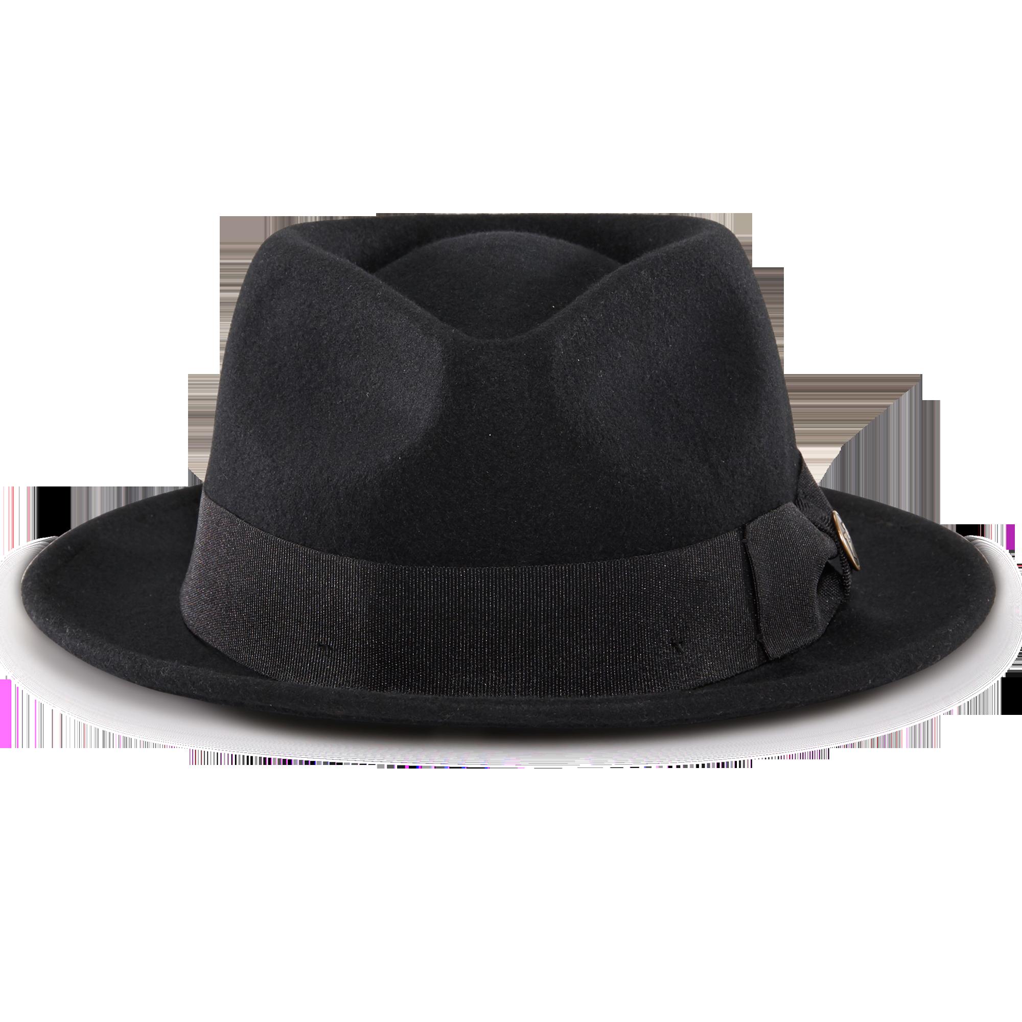 Mr. Paxton Felt Fedora Hat  a3d68d4b553