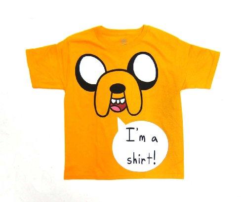Amazon.com: adventure time boys jake i'm a shirt tee: clothing