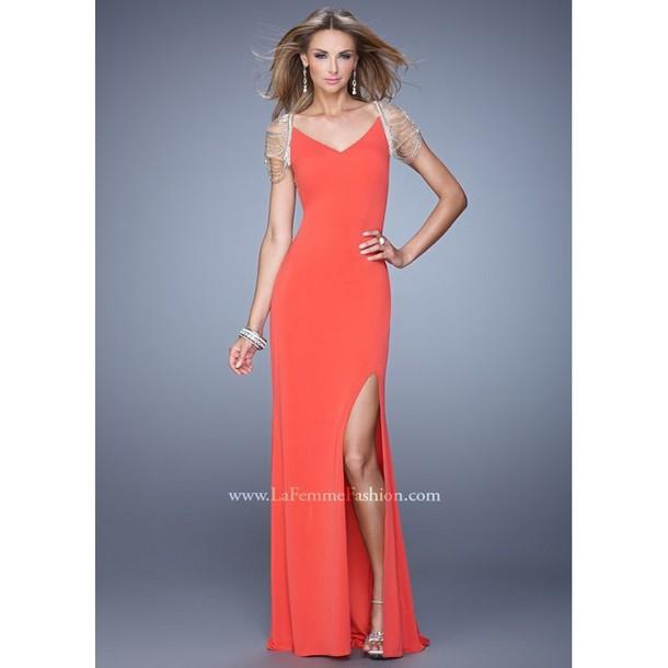 dress, prom dress, high-low dresses, evening dress, ralph lauren femme, 2015  new trends - Wheretoget b948873ca0e