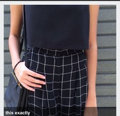 style,skirt,grid,grunge,checkered,pleated skirt