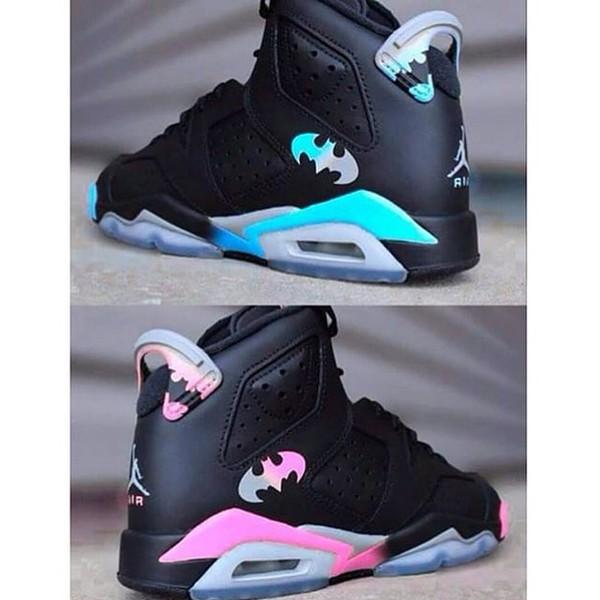 batman jordans black sneakers high top sneakers air jordan shoes shorts micheal jorden sneakers jordan's nike air jordan's batman jordans nike hightops batman shoes
