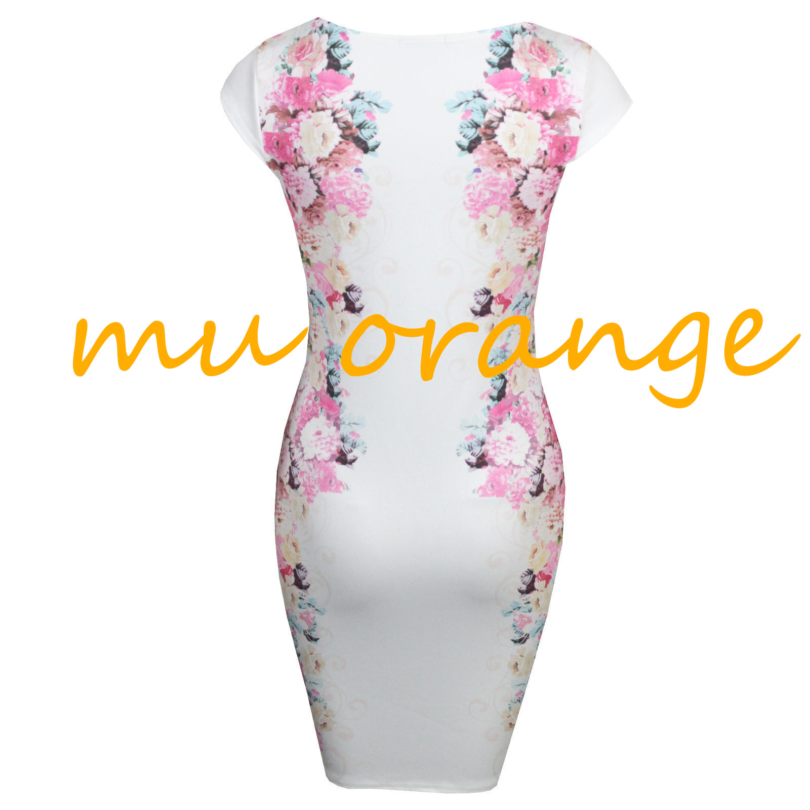 Women fashion sexy white sleeveless printing party dress ds253 · foreverfashion · online store powered by storenvy