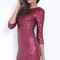 Pink sequin dress - vibrant sequin bodycon dress with | ustrendy