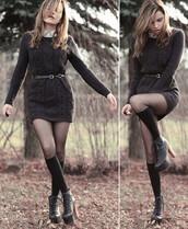 brown dress,dress,knitted dress,winter dress,long sleeve dress