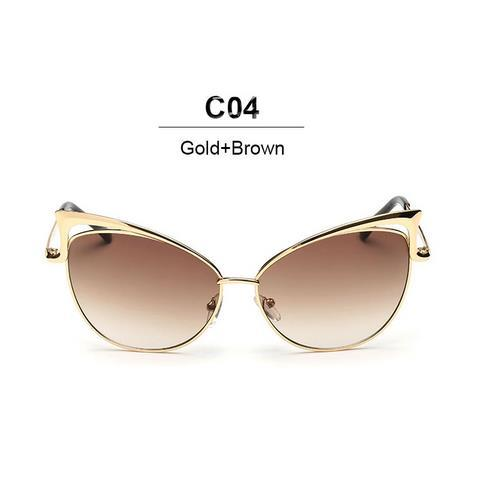 Cat Eye Sunglasses 7 Lenses