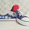 Doctor who custom converse / dr who converse / dw & tardis / painted shoes