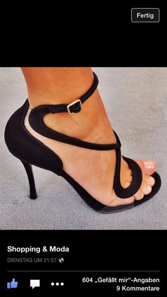 shoes black heels high heels cute high heels black pumps