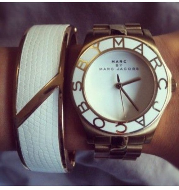 white gold marc jacobs watch watch white gold bracelets