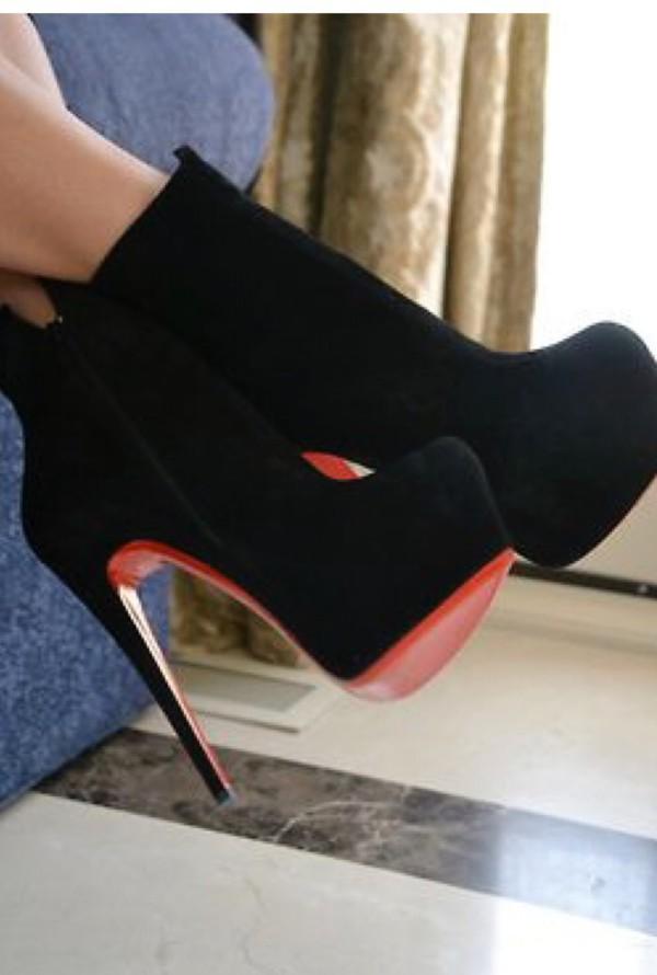 shoes black boots pumps heels plateforms high heels high heels boots platform heels