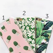 phone cover,floral,cactus,iphone cover,iphone case,leaves,boogzel