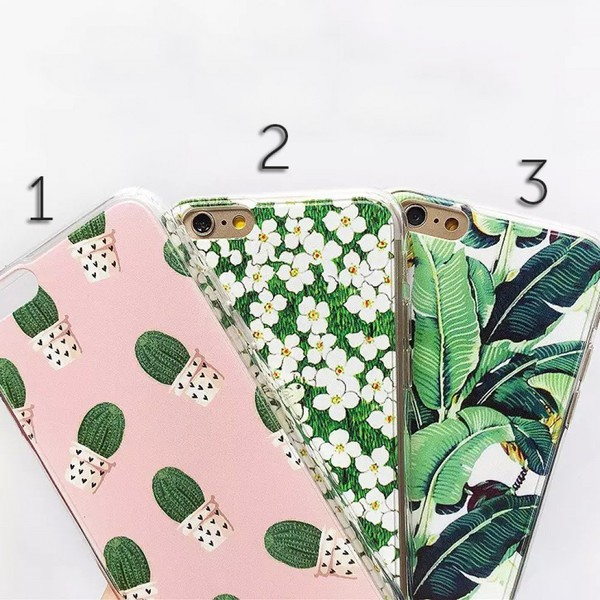 phone cover floral cactus iphone cover iphone case leaves boogzel
