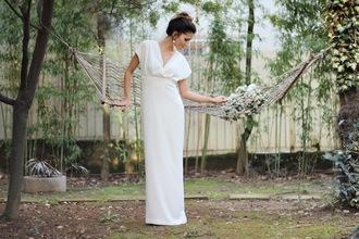 rana demir blogger wedding dress hipster wedding dress jewels