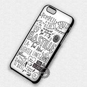 phone cover,music,bastille,collage,white,band,iphone case,iphone cover,iphone 4 case,iphone 4s,iphone 5 case,iphone 5s,iphone 5c,iphone 6 case,iphone 6s,iphone 6 plus,iphone 7 case,iphone 7 plus case