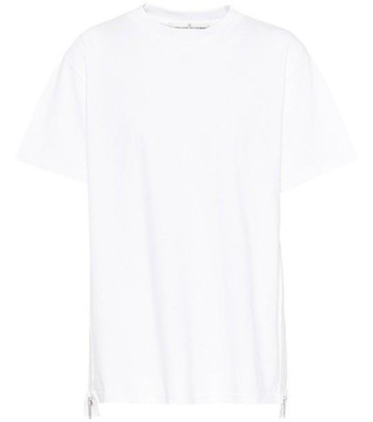 GOLDEN GOOSE DELUXE BRAND t-shirt shirt cotton t-shirt t-shirt cotton white top