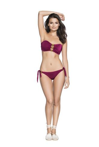 swimwear bikini cheeky purple agua bendita bikiniluxe