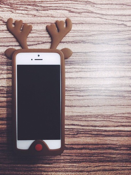 phone cover christmas braun deare cool