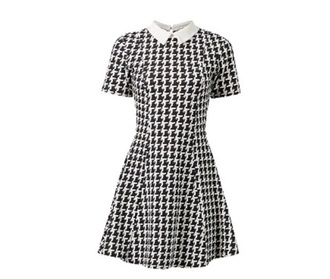 dress dogtooth dress black dress day dress white dress
