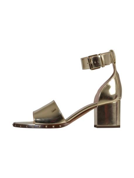 Valentino Garavani gold shoes