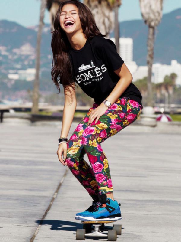 Shirt Reason Homies T Shirt Zendaya Adidas Leggings