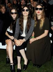 dress,haim,sunglasses