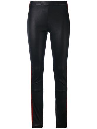 leggings leather leggings women leather cotton black pants