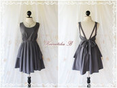 dress,black,red,ootd,top,blouse,fashion,trendy,cute,party dress,white,undies,bow,bows,bowknot,backless,backless dress,black dress,gorgeous,evening dress