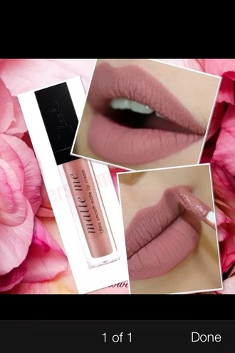 make-up nude lipstick matte lipstick lip liner light pink lipstick nude