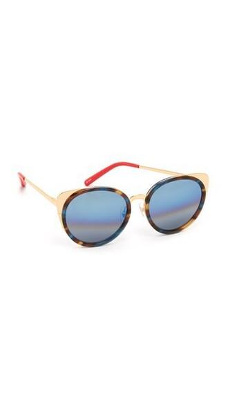 ocean sunglasses blue coral