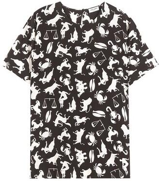 blouse cold black top