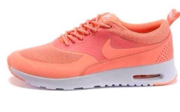 shoes nike air nike air max thea coral nike