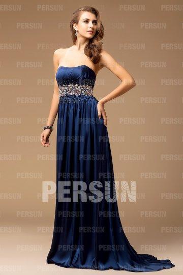 2012 Beaded Strapless Empire Floor-length Evening Dress [FCLA308419]- US$ 160.99 - PersunMall.com