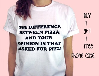 quote on it white top white t-shirt graphic tee