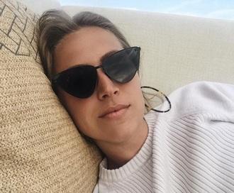 sunglasses glasses sunnies black black sunglasses cat eye retro sunglasses cat-eyed sunglasses accessories accessory
